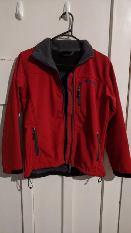 Wild Kiwi red jacket