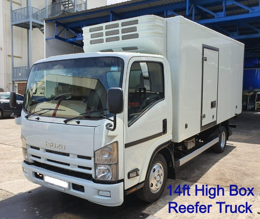 14ft - Chiller, Freezer, Cold, Reefer, Refrigerated Truck - Class 3