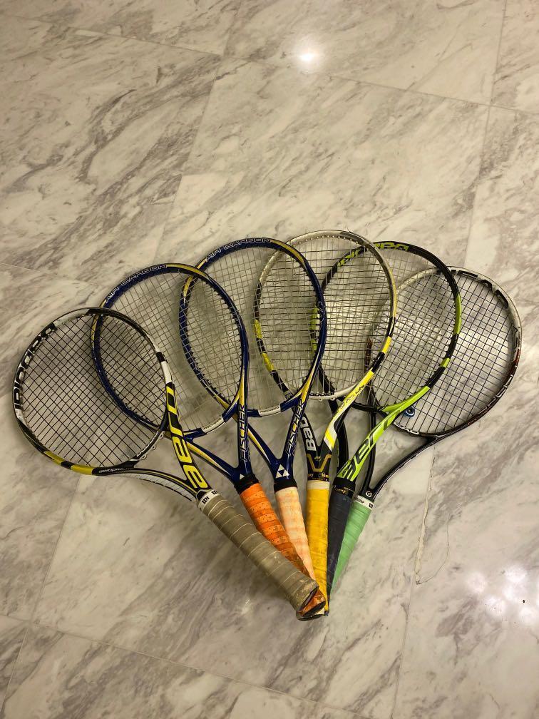 6 Tennis Rackets