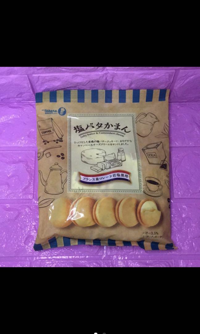 🇯🇵日本製岩鹽奶油餅