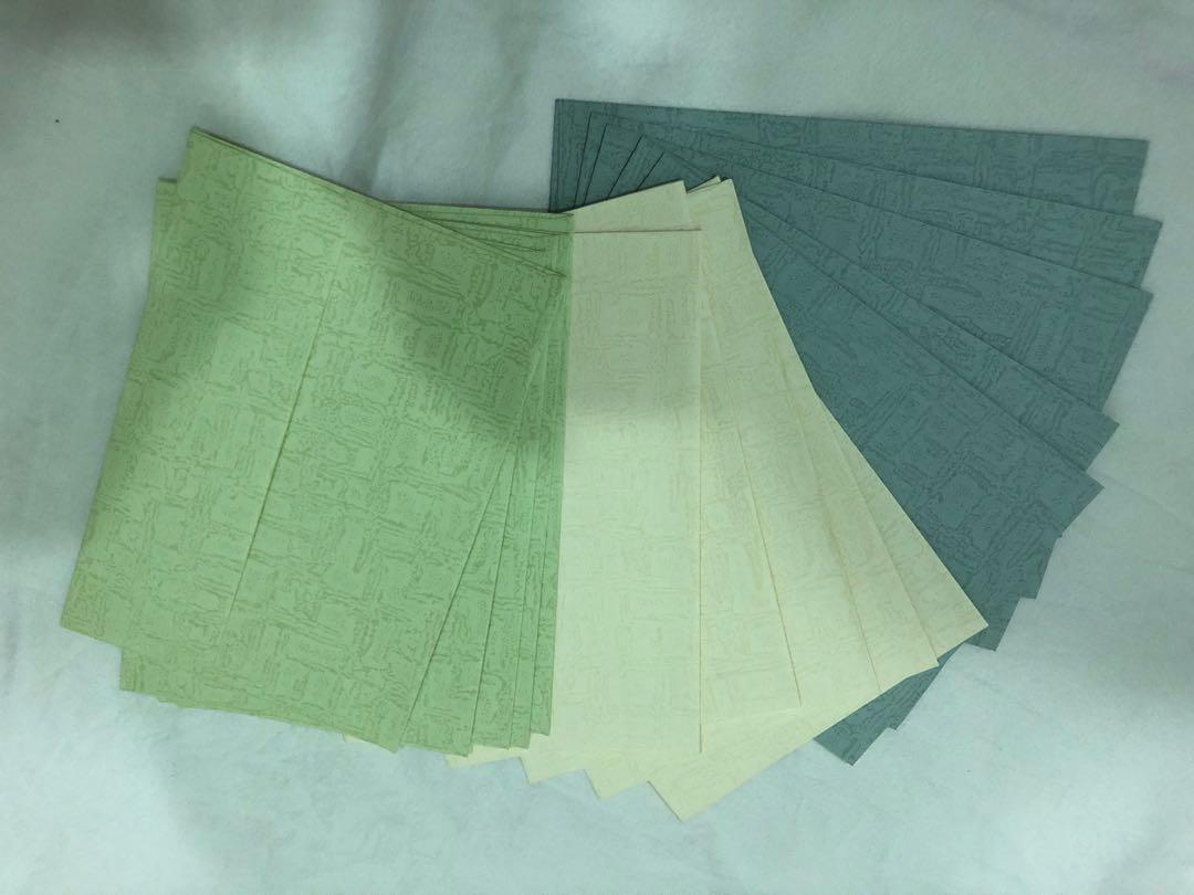 雲彩紙 西式信封
