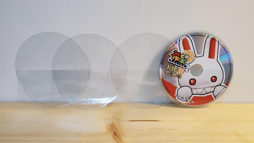 【免費 Free】全透明CD套 DVD VCD 袋