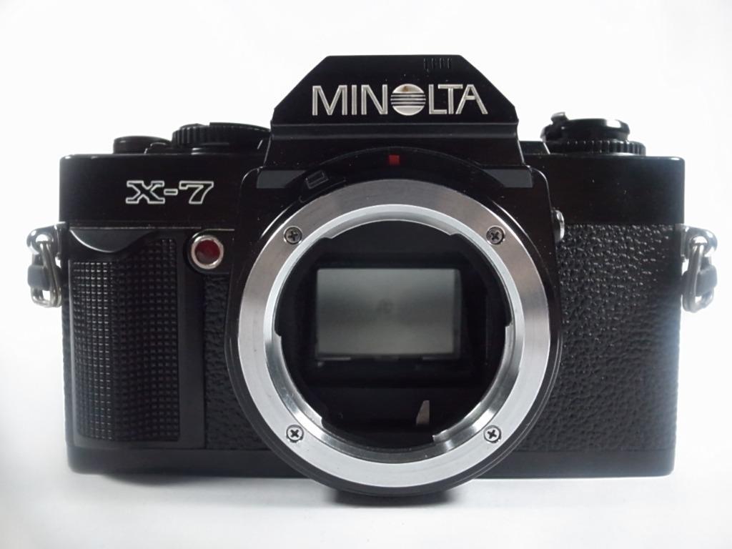 [一直攝] Minolta X-7 底片單眼相機