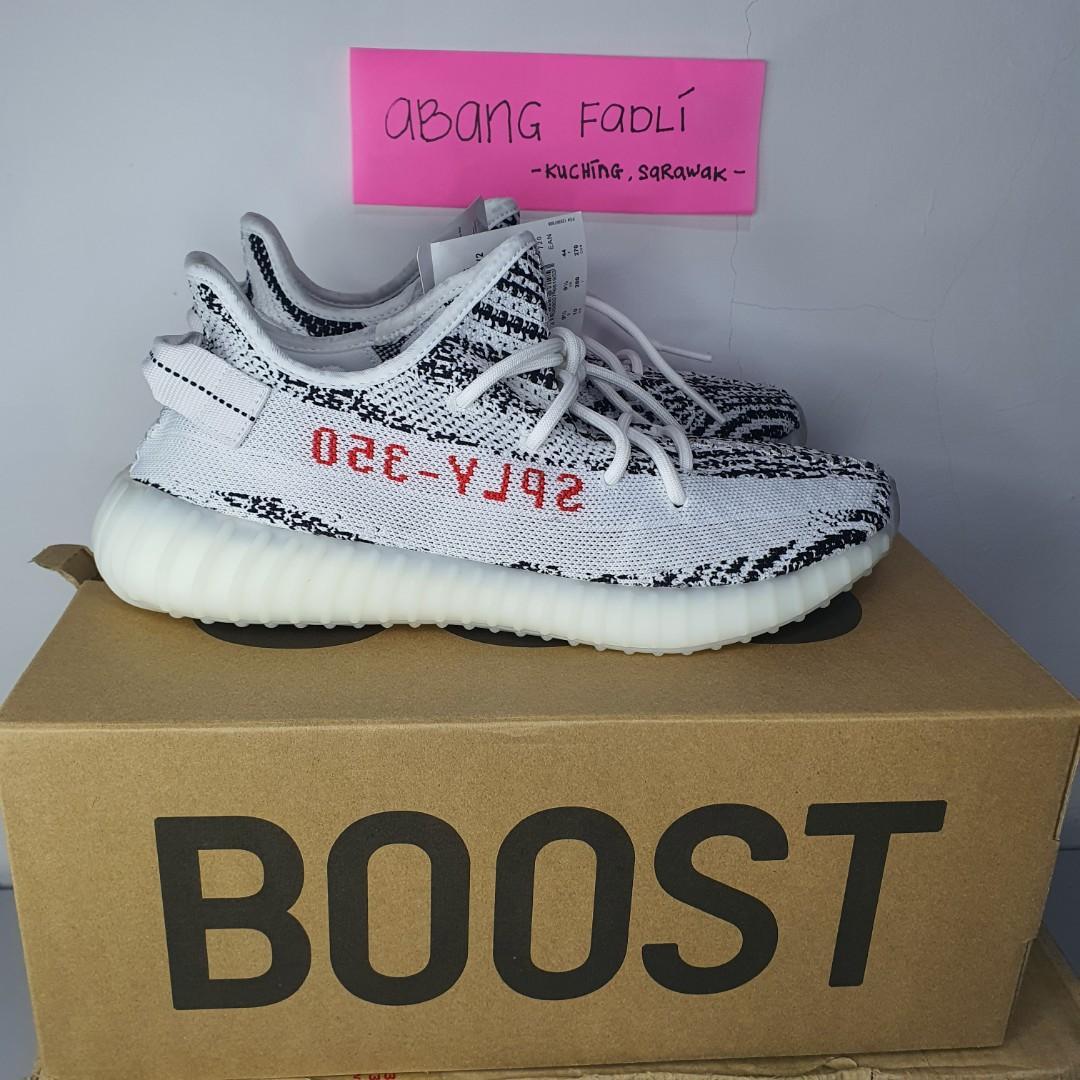 Adidas Yeezy Boost 350 V2 Zebra UK9.5
