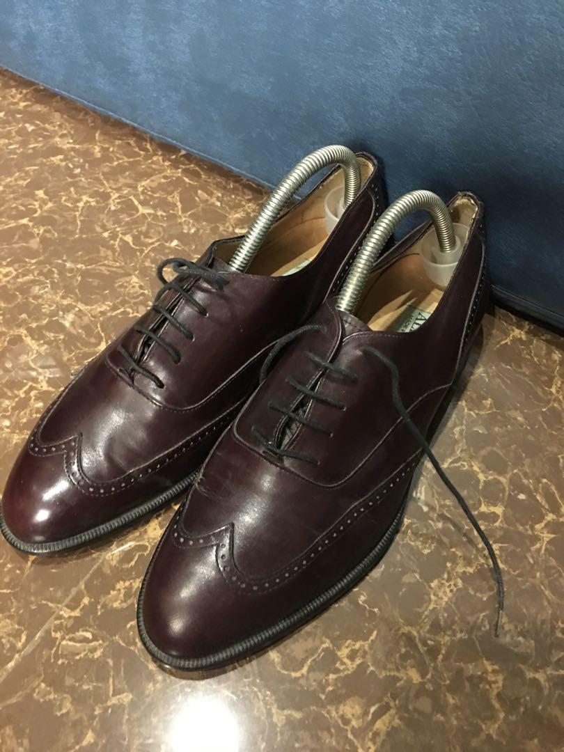 Alfani Wingtip Oxford Dress Shoes, Men