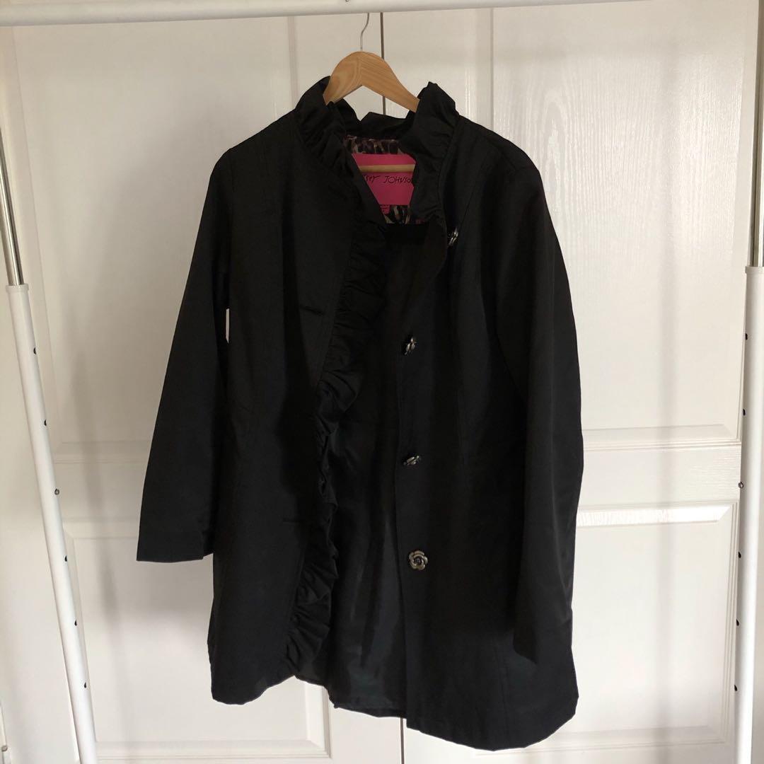 Betsy Johnson Trench Coat