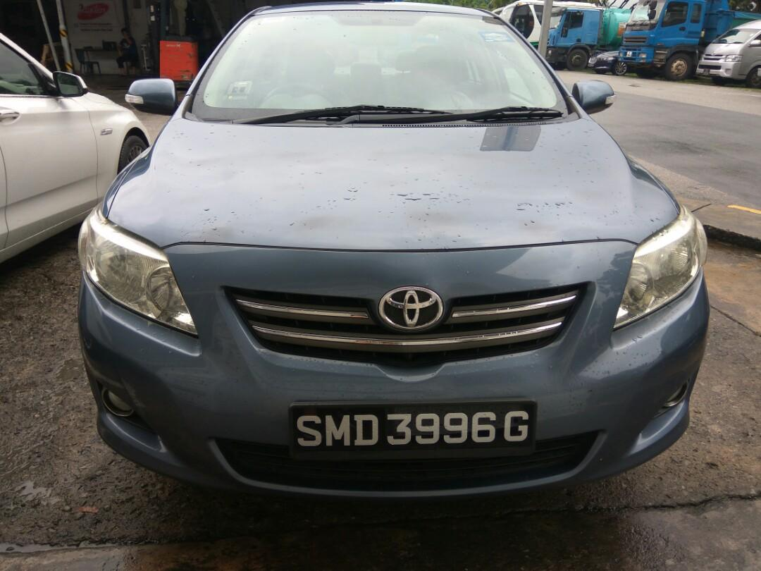 Toyota Corolla Altis ,powerful engine for  Car rental for short and long term weekly $320