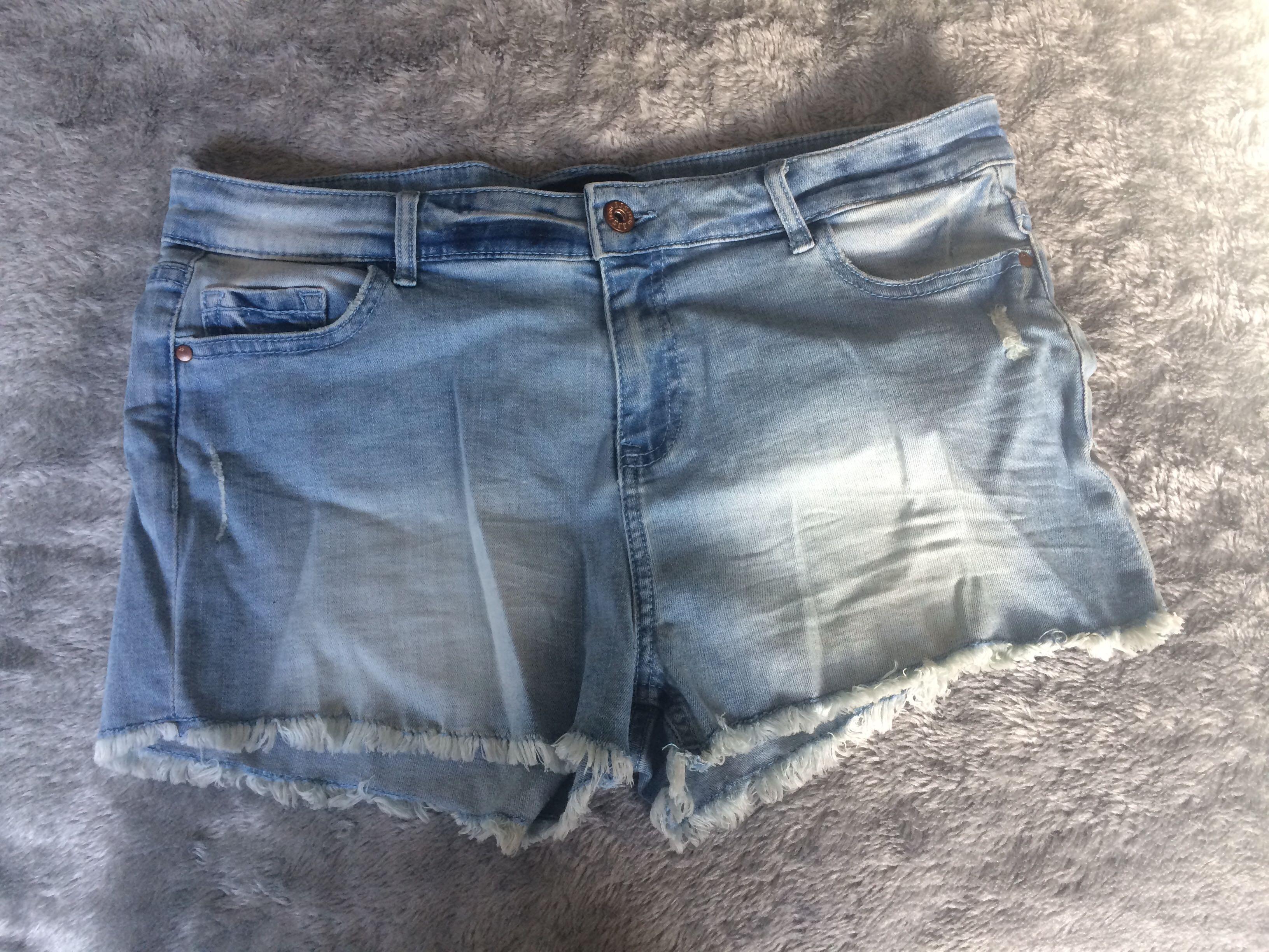 Cheeky denim Shorts