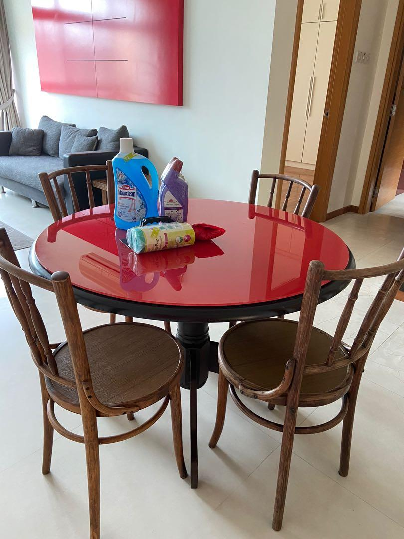 Clearance Dining Table Set Furniture Home Living Furniture Tables Sets On Carousell