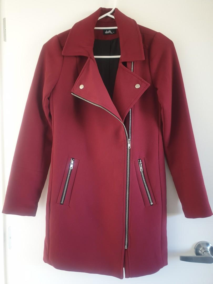 Dotti Biker Style Coat