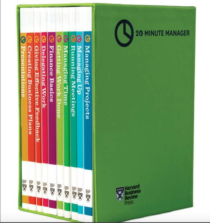 Harvard Business Review - 20 Minute Manager - Boxed Set