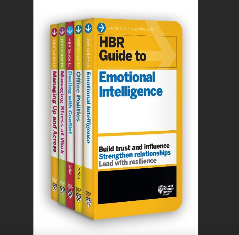 Harvard Business Review Guides to Emotional Intelligence at Work - Boxed Set