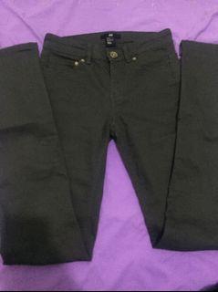 h&m skinny jeans grey
