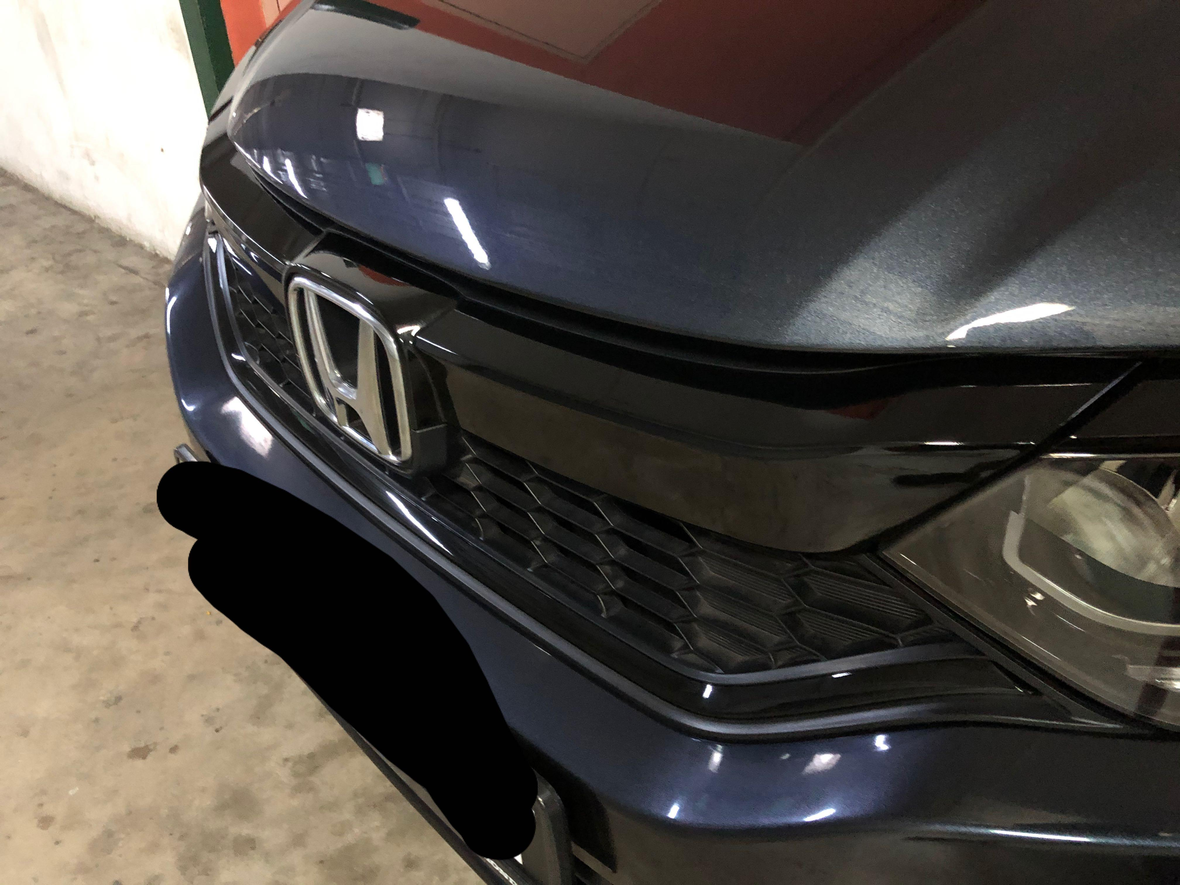Honda City Front Grill Sticker Wrap Car Accessories Accessories On Carousell