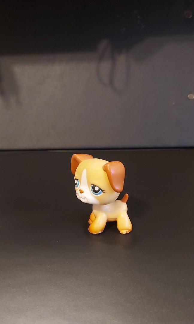 Littlest Pet Shop boxer puppy (#218)