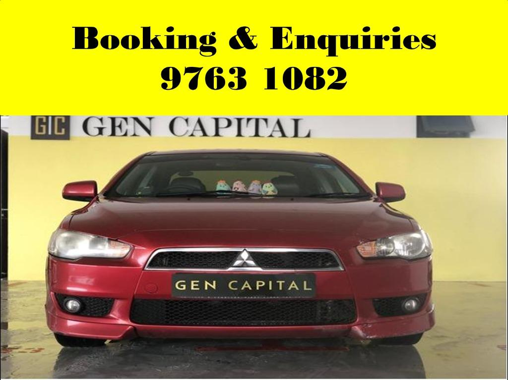 Mitsubishi EX ! Weekend cheap , budget car for rent ! Deposit only @ $500 . Whatsapp 9763 1082 to reserve your car now !