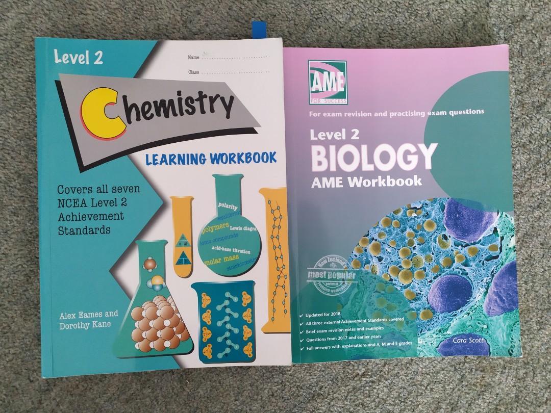 NCEA Chem and Bio Workbooks
