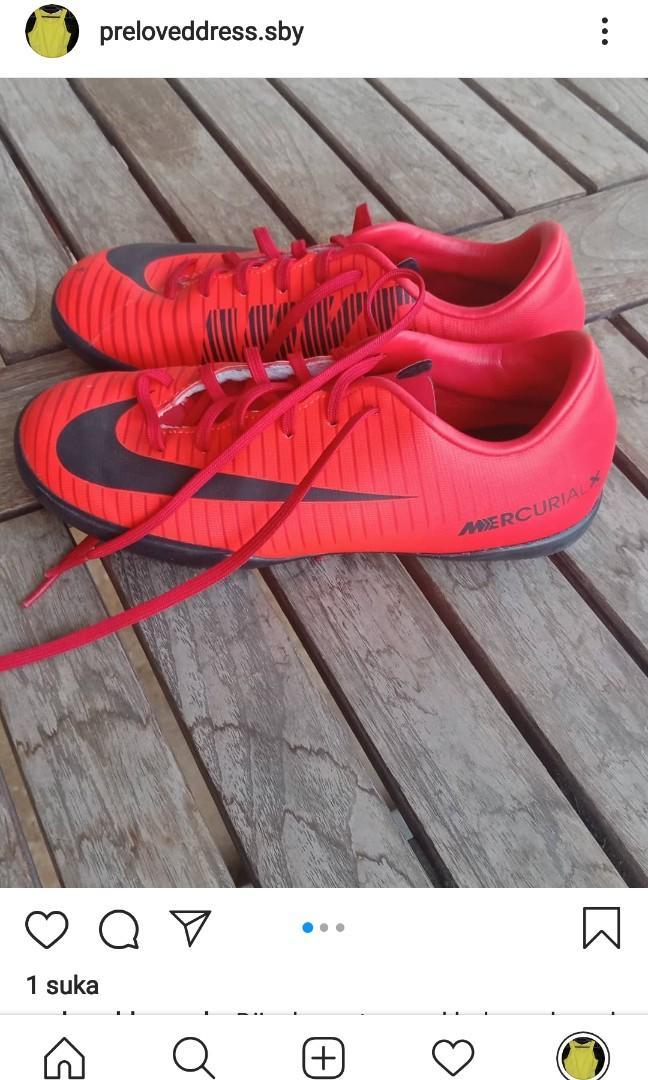 Nike mercurial sepatu futsal anak
