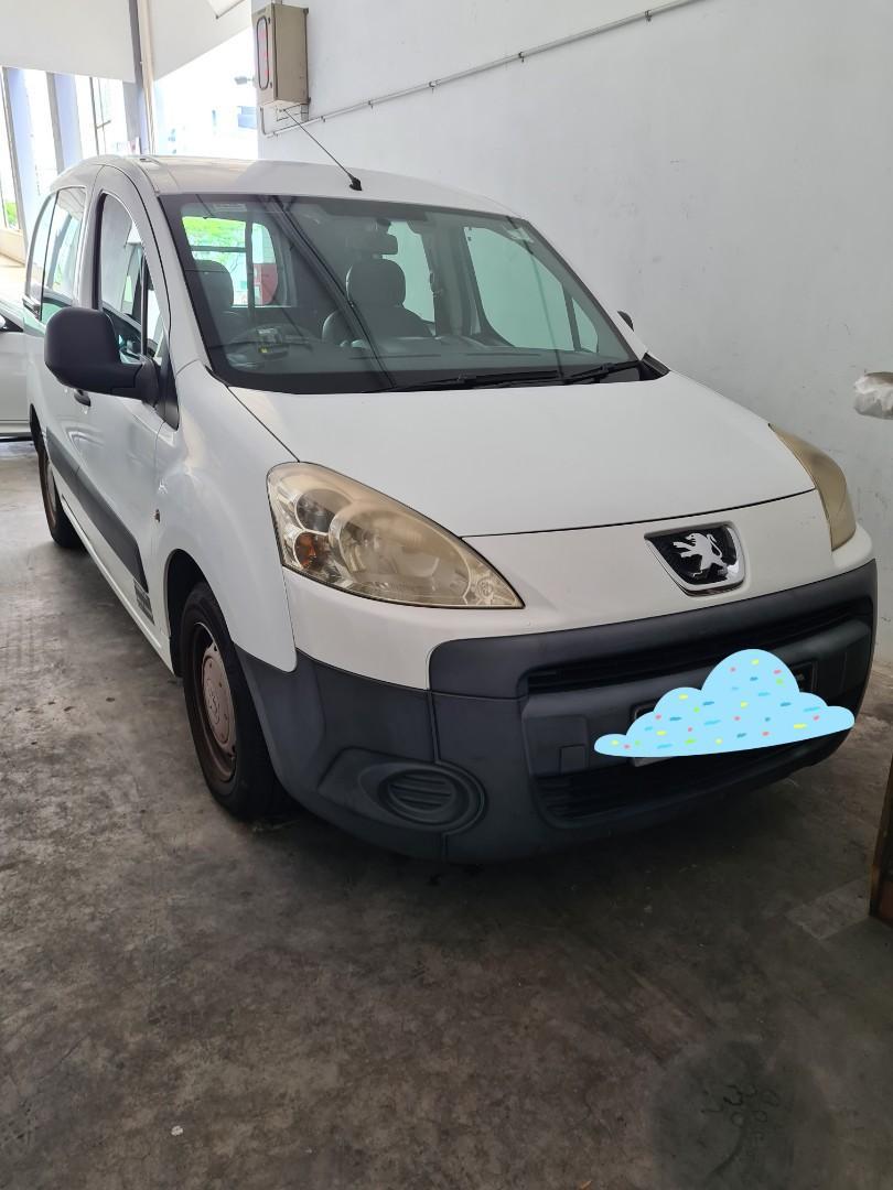 Peugeot Partner 1.6 Van Rental