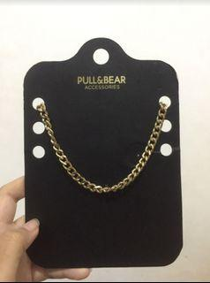 Pull&bear necklace gold