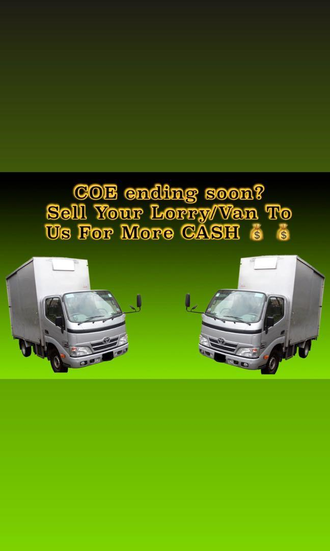 Selling Your Lorry?