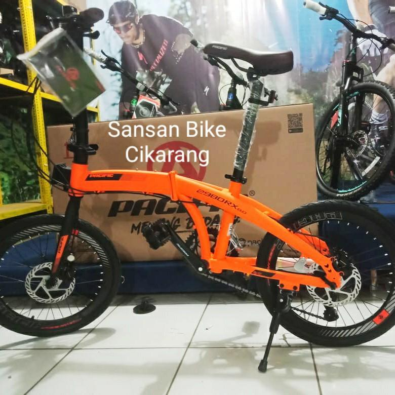 NEWCOMERS SEPEDA LIPAT 20 PACIFIC 2980 RX 8.0 ( NEWCOMERS )