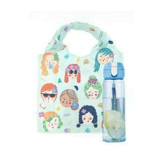 Shopping Bag & Botol Idekuhandmade x Locknlock