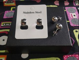STAINLESS STEEL Earrings Bundle