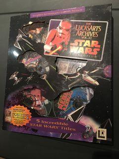 Star Wars computer games - 6CDs