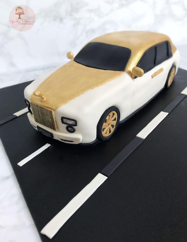 3d Car Cake Rolls Royce Food Drinks Baked Goods On Carousell