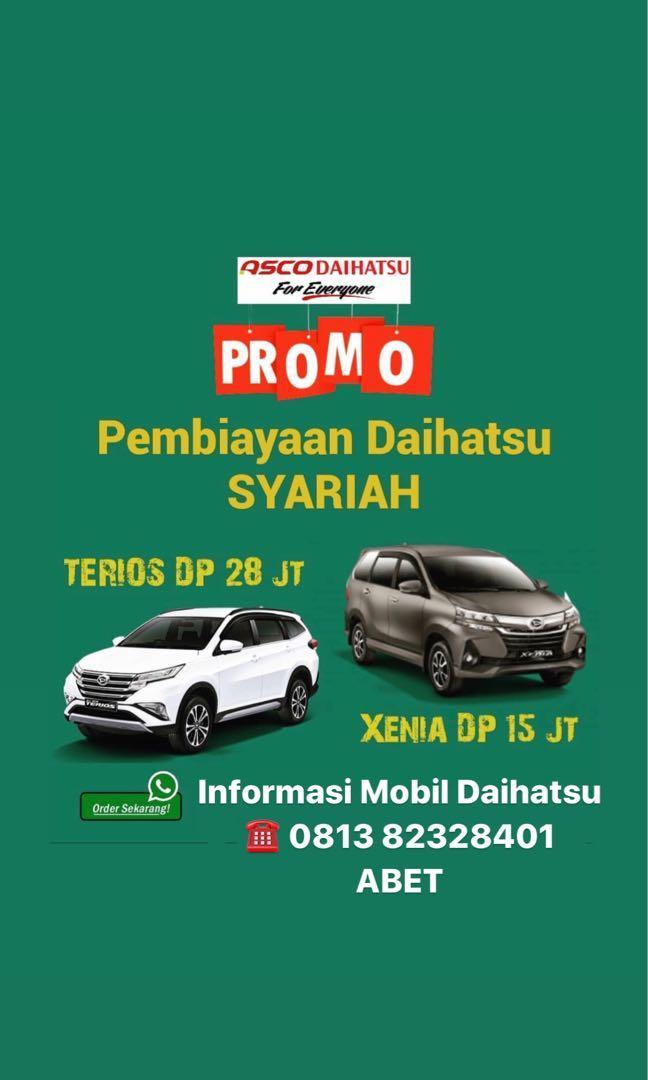 ANGSURAN MURAH Daihatsu Xenia mulai 4,1 jutaan. Daihatsu Fatmawati