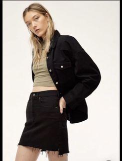 Aritzia Black Tanit Skirt