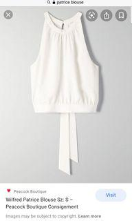 Aritzia Wilfred Patrice Blouse