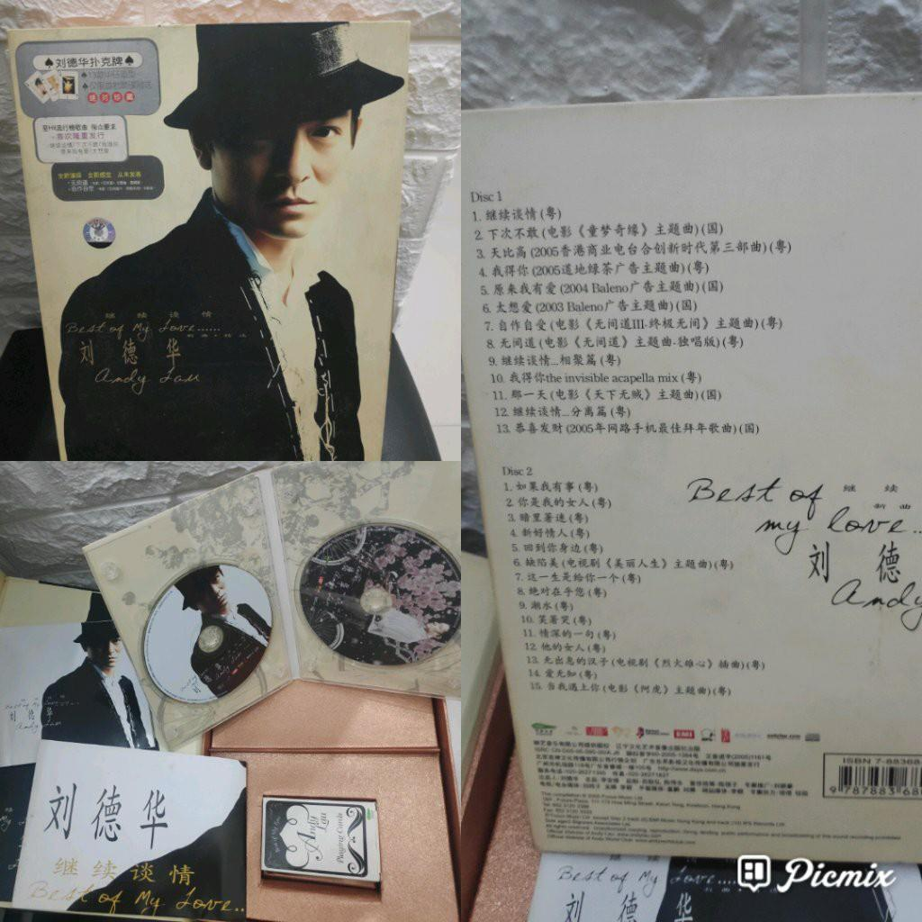 CD Andy Lau 刘德华 - Best of My Love