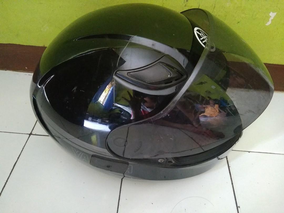 Helm full face yamaha ori