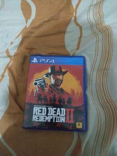 Kaset RDR II PS4