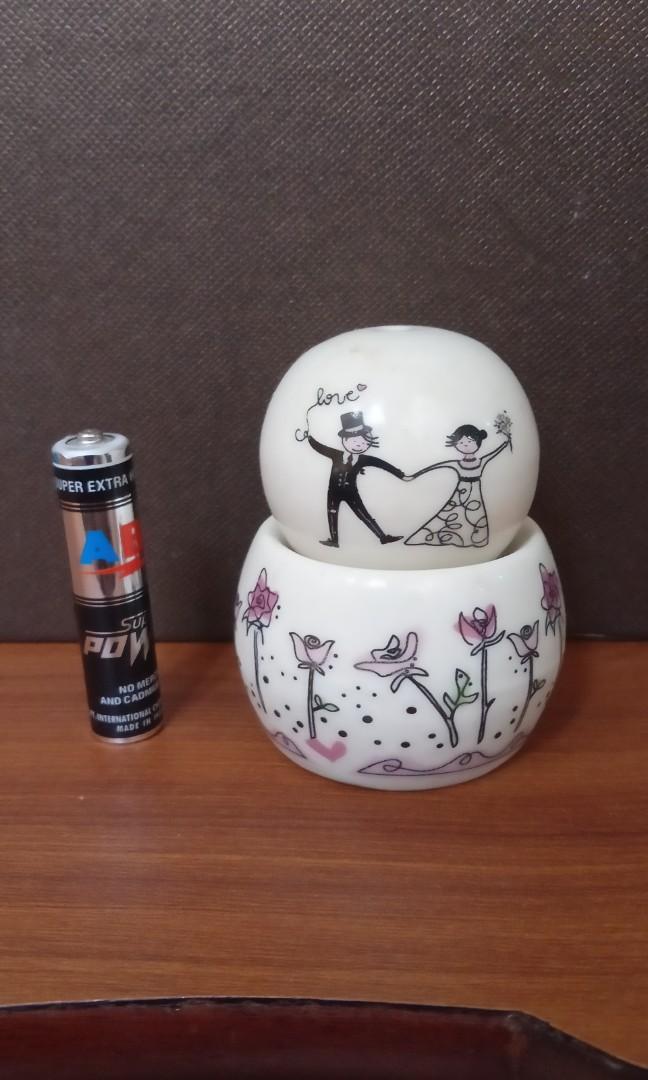 Keramik salt and pepper