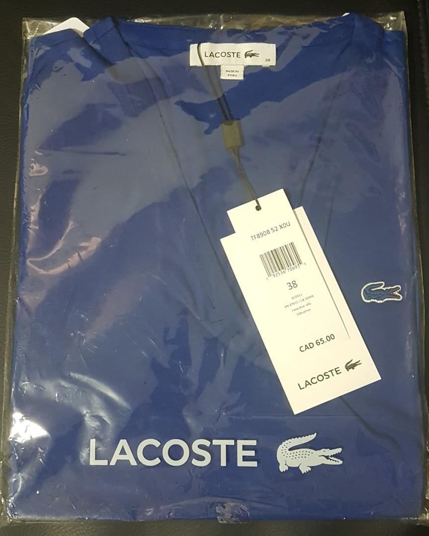Lacoste Slim Fit T-Shirt - Womens (Size: 38 = Medium)