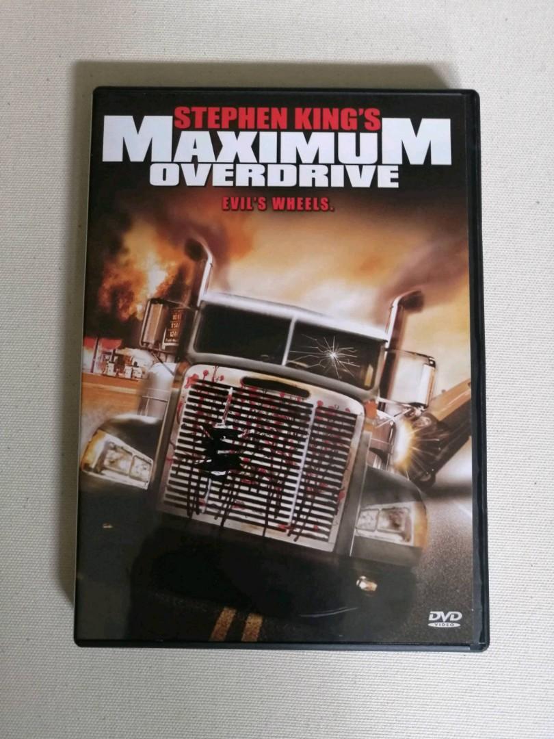 Maximum Overdrive dvd (Rare)