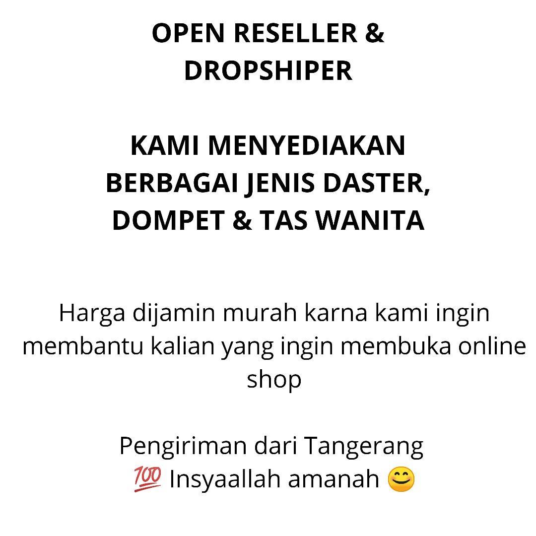 Open reseller dan dropship