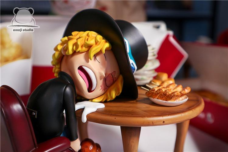 [PRE-ORDER]ONE PIECE: EAT AND SLEEP SABO STATUE FIGURE