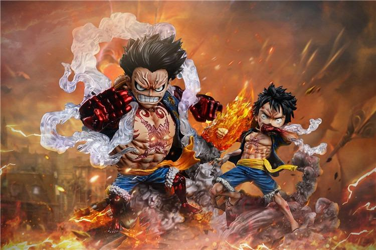 [PRE-ORDER]ONE PIECE: MONKEY D. LUFFY GEAR SECOND AND GEAR FOURTH FIGURE STATUE