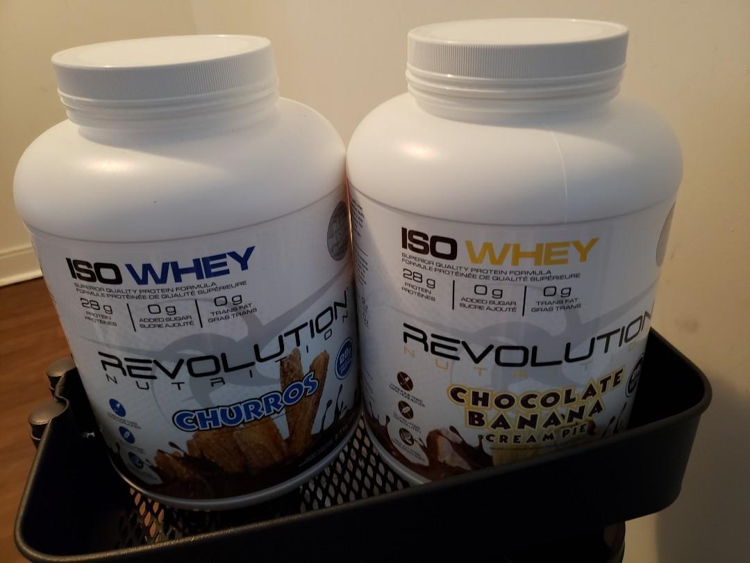 Revolution nutrition iso whey