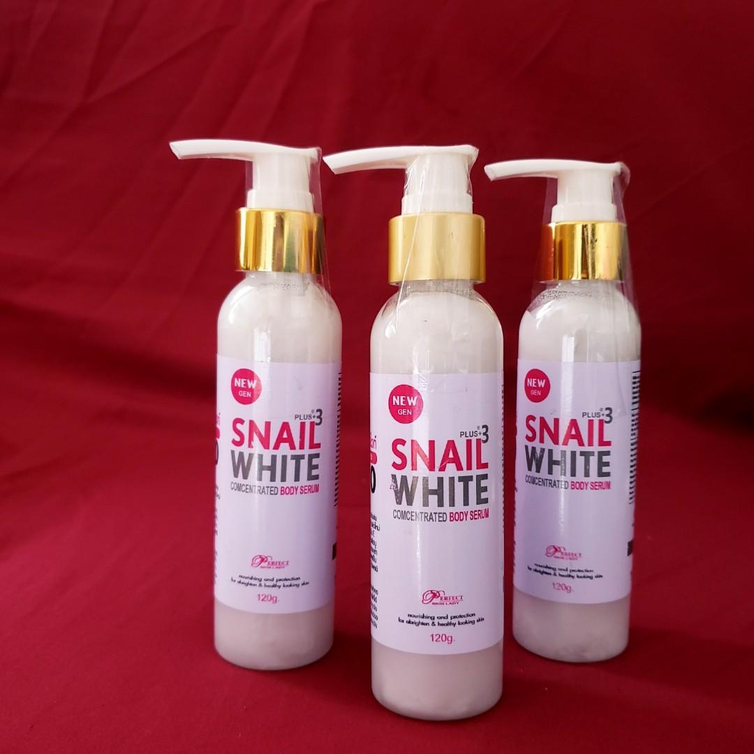 SNAIL WHITE BODY SERUM