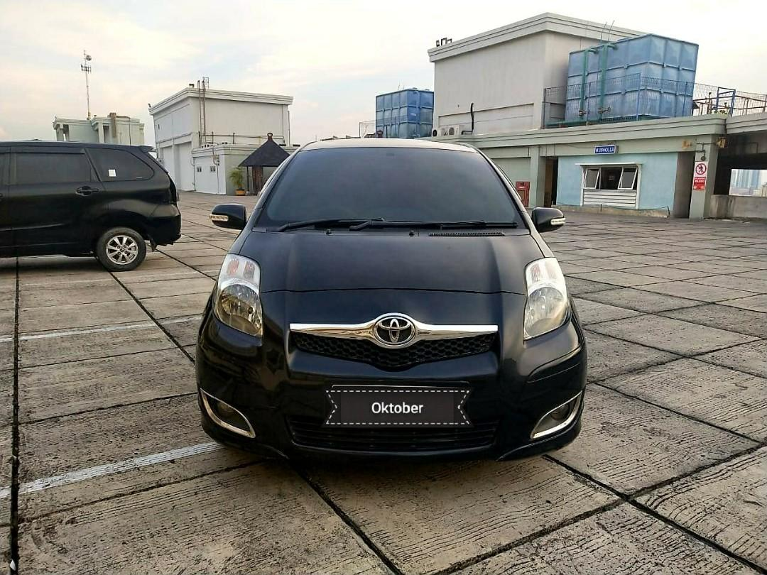 Toyota Yaris E 1.5 AT 2011 angs 1.5 jt aja