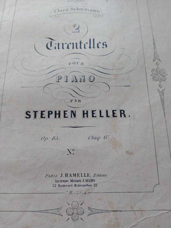 1915年古董琴譜