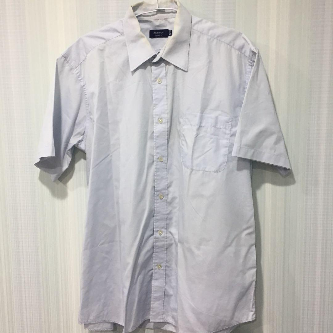 816免費淺藍色短袖襯衫品牌Tex basic