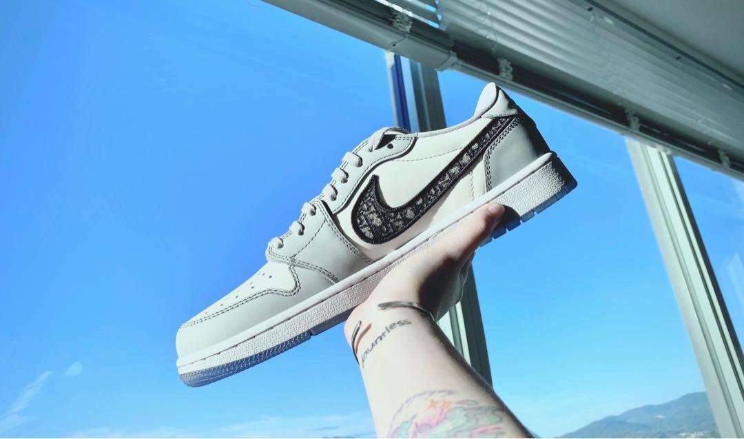 Air Dior Low Sneaker US10