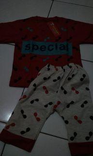 #akhirbulan Setelan Baju bayi