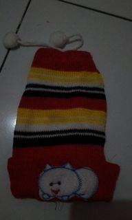 #akhirbulan Topi Rajut Bayi